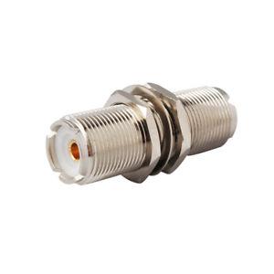 VHF-UHF-SO-239-Female-to-Female-Bulkhead-CB-Amateur-Ham-Radio-Connector-Adapter