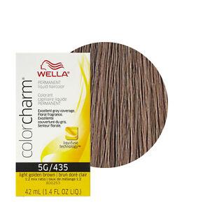 Wella Color Charm Permament Liquid Hair Color 42ml Light Golden