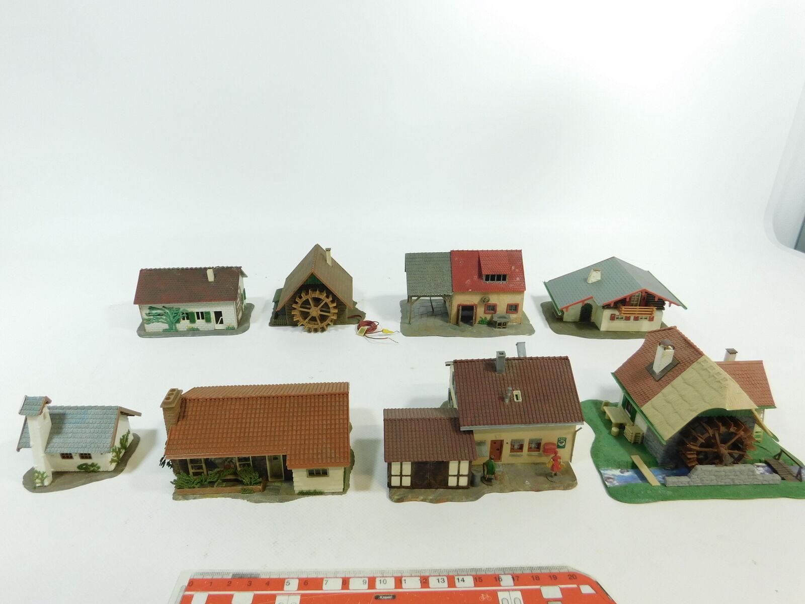 BD853-1  8x Faller H0 Landhaus Kapelle Werkstatt etc  234+276b+287+25201 etc