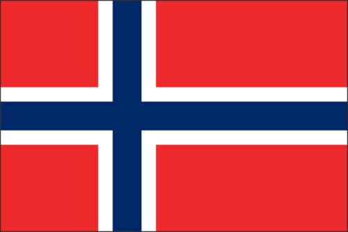 Sticker ** 5 Sizes ** Norway Flag Vinyl Decal
