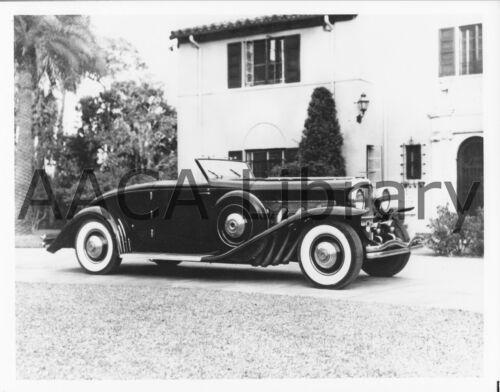 1936 Duesenberg SJ Rollston Spec. Convertible Coupe, Factory Photo (Ref. #39602)