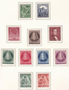 Berlin-Sammlung-postfrisch-im-Vordruckalbum-48-90-gesammelt-1950-90