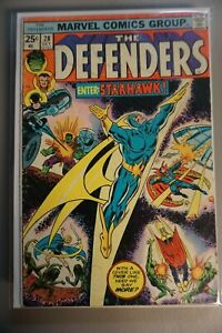Defenders-28-1975-Marvel-GOTG-1st-Appearance-STARHAWK