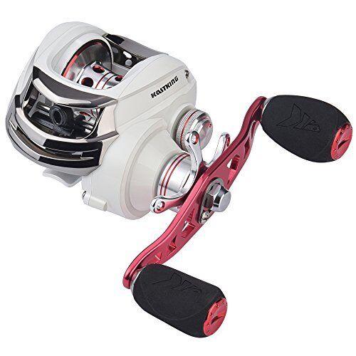 Baitcasting Fishing Reels 5.3:1 Gear Left Hand Magnetic Brake Low Speed Profile
