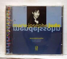 MARIE-JOSEPHE JUDE - MENDELSSOHN 6 preludes & fugues, variations LYRINX CD NM