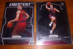 Dylan-Windler-2019-20-Panini-Prizm-Rookie-Lot-Silver-Base-RC-Emergent-Base-RC