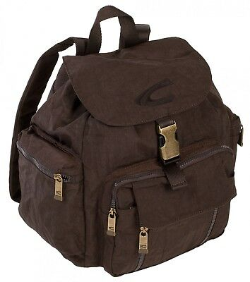 Camel Active Backpack Borsa Zaino Marrone Dolcezza Gradevole