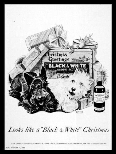 Black /& White Scotch whisky pub Man Cave Rétro Plaque Métal//signe bar