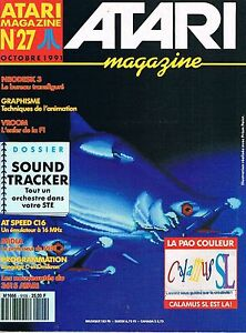 Atari Magazine N°27 Oct 1991 : Sound Tracker