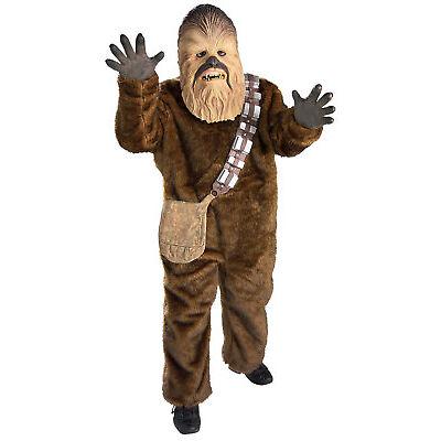 Rubie's Official Star Wars, Deluxe Chewbacca Boys Fancy Dress Book Week Costume