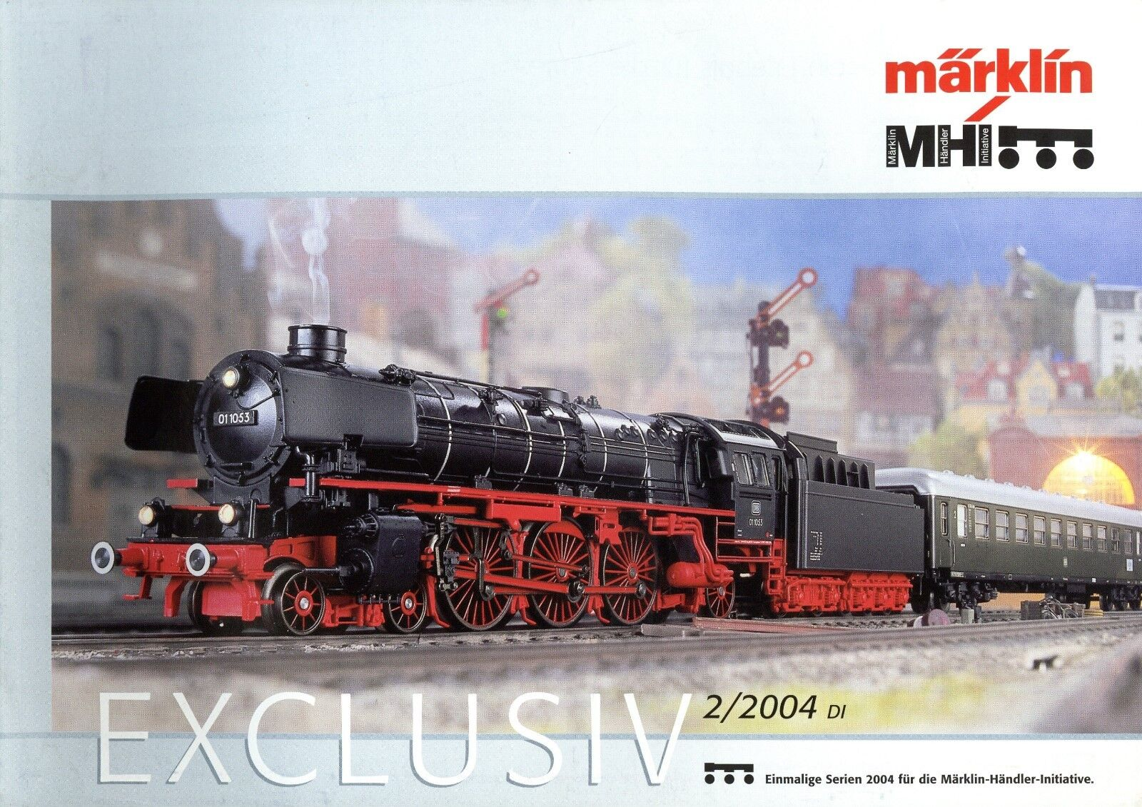 Märklin Exclusiv Prospekt 2004 2 04 brochure Marklin prospectus broschyr catalog