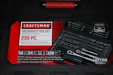 Craftsman 230pc SAE/ Metric Mechanics Tool Set #50230