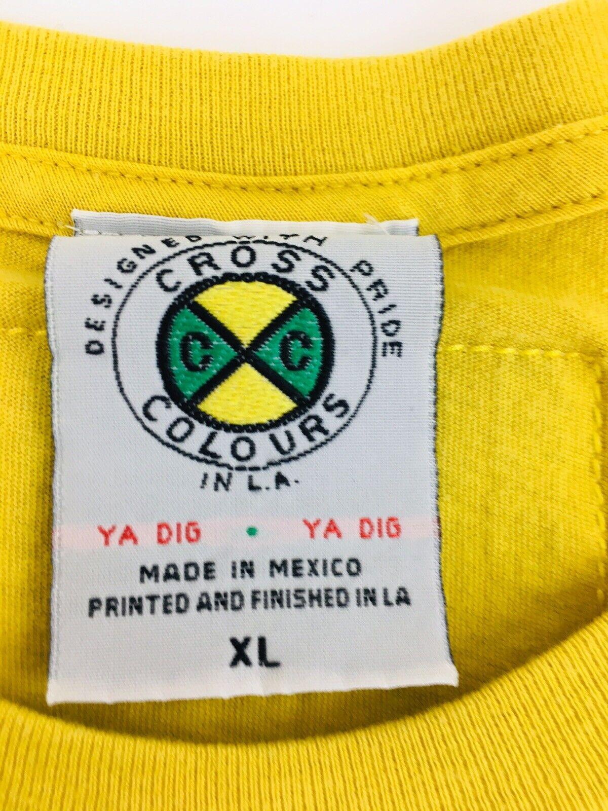 Vintage Cross Colours shirt T-Boz 1992 Hip Hop sh… - image 4