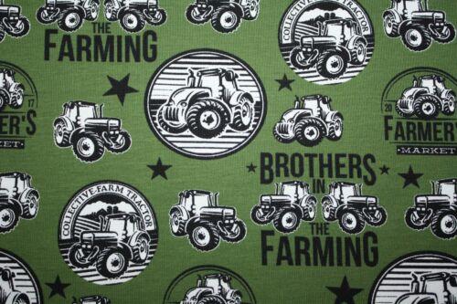 Jersey tracteur partiel Brothers Vert