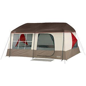 Image is loading NEW-Wenzel-Kodiak-C&ing-9-Person-Family-Cabin-  sc 1 st  eBay & NEW Wenzel Kodiak Camping 9 Person Family Cabin Dome Tent Outdoor ...