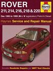Rover 200 Series Petrol and Diesel: 1995 to 1999 by Spencer Drayton, Steve Rendle (Board book, 2005)