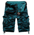 Mens Fashion Army Cargo Camo Combat Military Work Trousers Casual Pants Sz 29-42