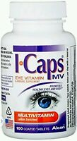 Alcon Icaps Multivitamin Eye Vitamin & Mineral Support, 100 Ea (no Box)