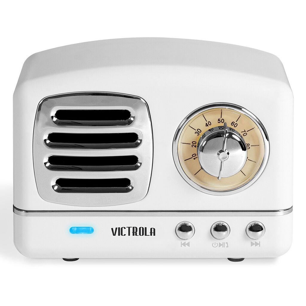 Victrola Lily Mini Bluetooth Stereo with FM Radio (White)  | eBay