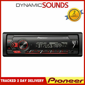 Pioneer-MVH-S320BT-USB-Bluetooth-Android-Ready-Stereo-Spotify-Red-Illumination