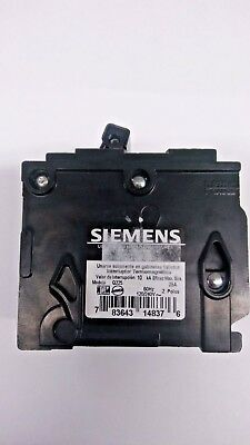 Siemens Q225 25-Amp 2 Pole 120//240-Volt Circuit Breaker