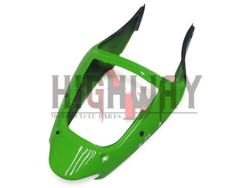 Fairings For Kawasaki ZX-6R NINJA 636 98 99 ABS Fairing Kit Bodywork Green Black