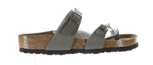 Birkenstock Womens Mayari Stone Sandals EUR 39 (1509497)