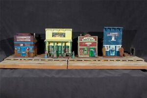 Potters-Old-West-Creek-Town-II-3047-zu-7cm-Sammelfiguren-Fertigmodell-in-Compo