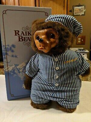Raikes Bears A Robert Raikes Original Penelope Bear in Original Box 1986