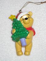 Disney Winnie The Pooh Christmas Ornament Pooh Hugging Christmas Tree In Box
