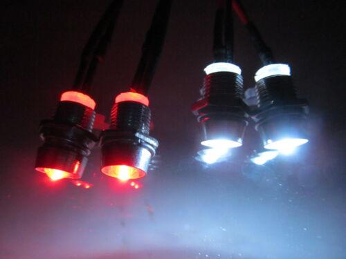 RC LED Light kit for radio control car truck plane 2 White 2 Red 5mm LEDRC-04