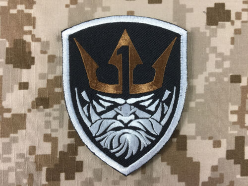WR-PT03A Warrior Medal Of Honor MOH King Patch Gold