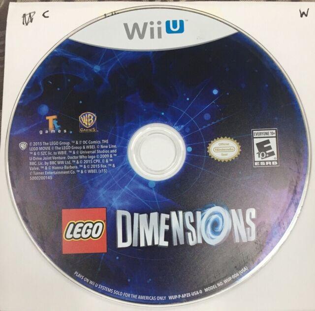 Lego Dimensions (2015) Nintendo Wii U Wiiu (Game Disc Only