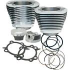 S&S Cycle - 910-0202 - 106in. Big Bore Kit, Silver Powder-Coat