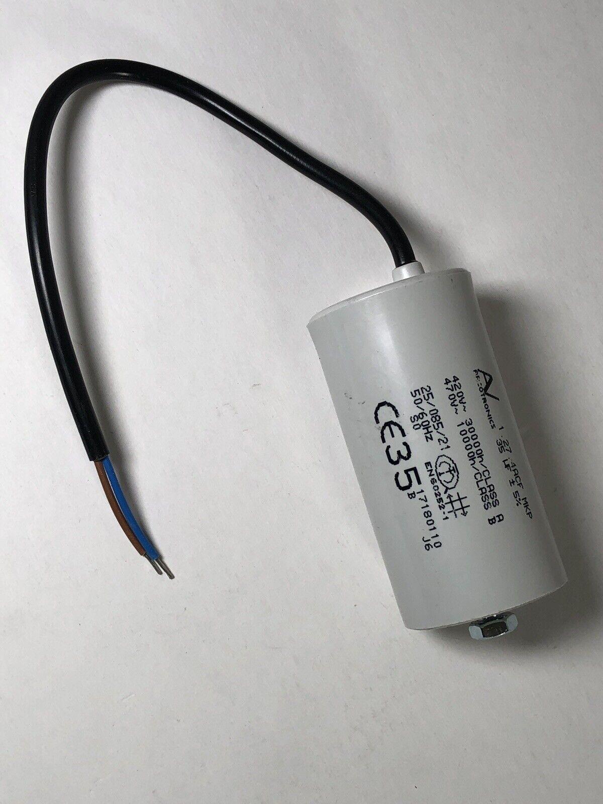 4uF 420V//470V ±5/% ARCOTRONICS Capacitor C.87.1AF1 MKP EN60252 NOS 1 pcs