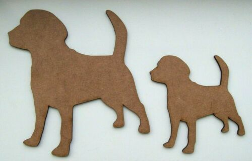 decoration embellishment MDF 4/'/' /& 6/'/' Dog laser cut out shapes craft making