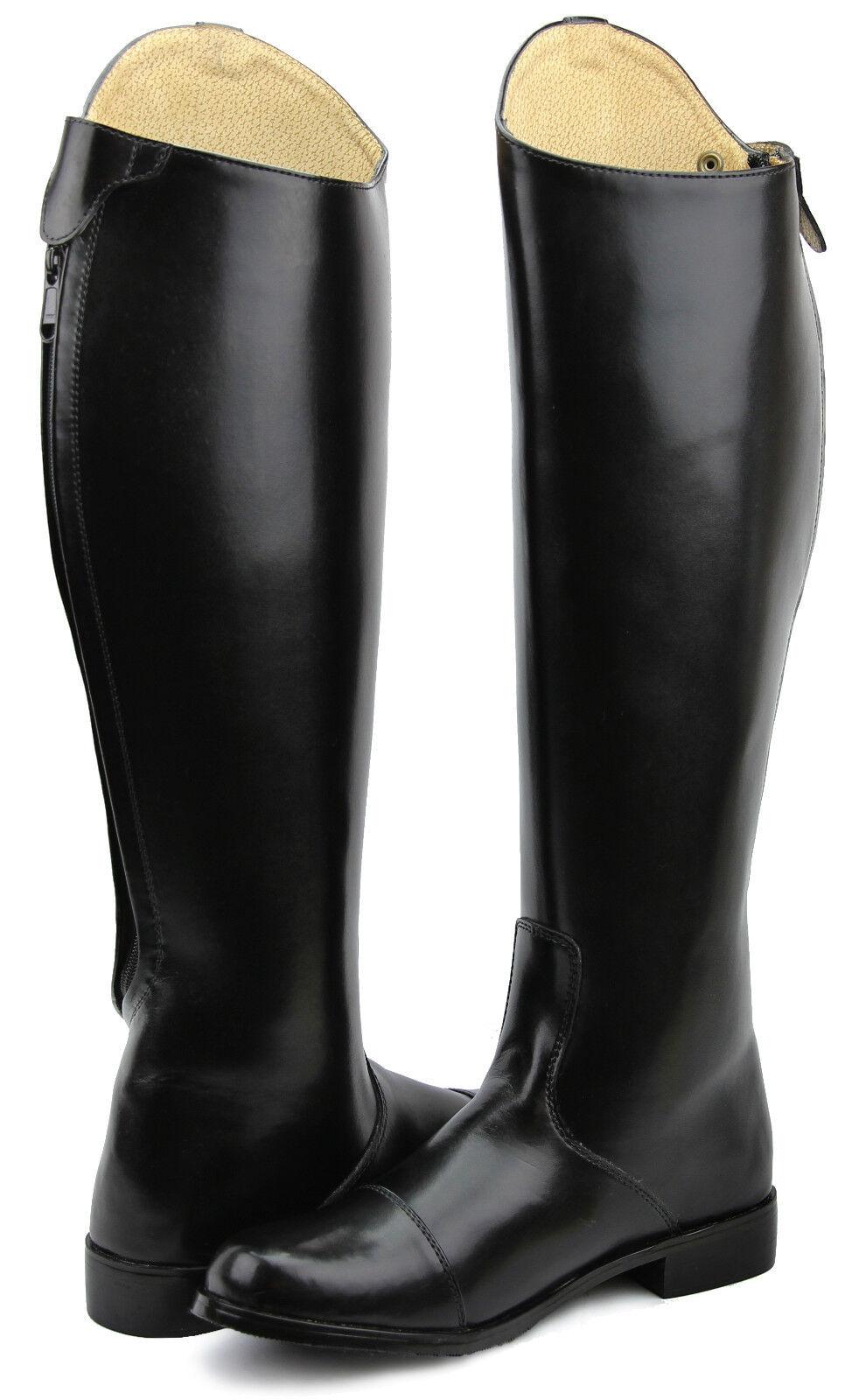 Hispar Ladies  STIRLING Dress Dressage Boots With Zipper English Horse Riding  official website