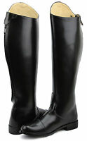 Hispar Ladies Stirling Dress Dressage Boots With Zipper English Horse Riding