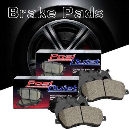 Front Rear Posi-Quiet Ceramic Brake Pads 2Set For 2010-2013 Suzuki Kizashi