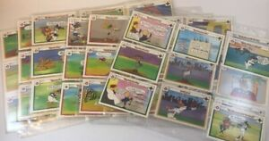 Details About Rare Set Of 56 Upper Deck Looney Tunes Baseball Cards Bugs Bunny Daffy 1990 Vgu
