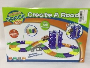 Bend A Path Lift, Car, 120 Pieces - Create a Road toy - Ages 3+
