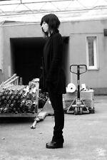ANN DEMEULEMEESTER VIRGIN WOOL BLACK TROUSERS PANTS FR 40 UK 12/14 US 8/10