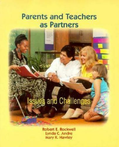 Parent and Teacher As Partners : A Guide for Early Childhood Educators-ExLibrary