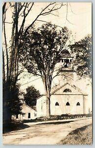 Limerick-ME-Bell-Open-Belltower-Congregational-United-Church-of-Christ-RPPC-1910