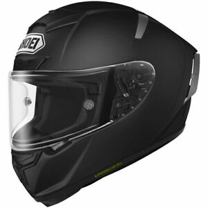 Shoei-X-Fourteen-DOT-Snell-Full-Face-Motorcycle-Street-Helmet-Matte-Black-LG