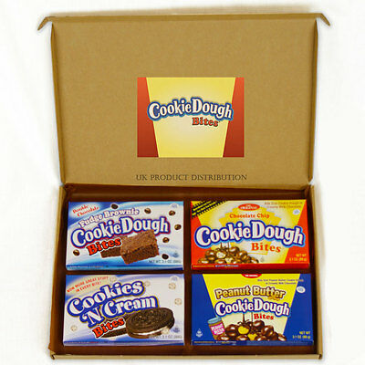 Cookie Dough Bites American Chocolate Selection Gift Box - 4 Boxes