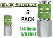 5 Legacy Flexzilla Pro High Flow Air Hose Quick Couplers 38 Fnpt A53616fz X