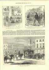 1874 Funeral Of Count Berg Saint Petersburg Royal Marriage Bride Cake