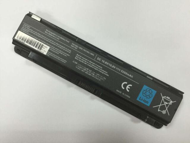 Battery for Toshiba Satellite C50 C50D C50t C55 C55D C55Dt C55t PA5109U-1BRS 6C