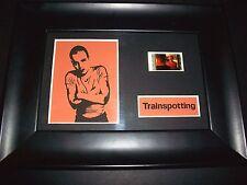 TRAINSPOTTING Framed Movie Film Cell Memorabilia - Compliments poster dvd book
